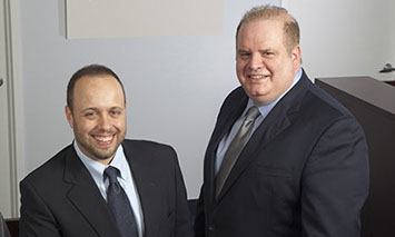 Richard Pisnoy and Andrew Weinberg, founders of Silver Fin Capital mortgage specialists
