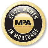 Elite Women in Mortgage award given to Stacey Elshehby of Silver Fin Capital.